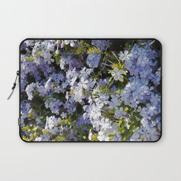 a violet flower in the heart of Athens Laptop Sleeve