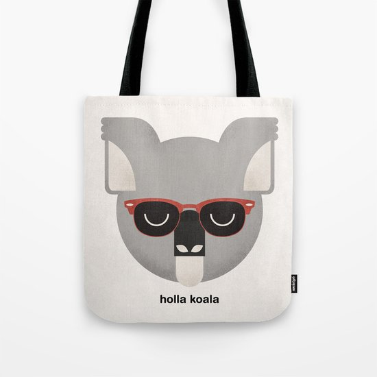 Holla Koala Tote Bag