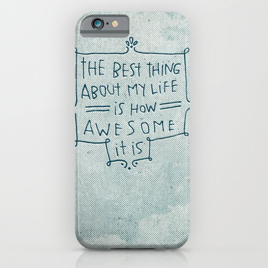The Best Thing iPhone & iPod Case