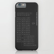 Periodic table of elements Slim Case iPhone 6