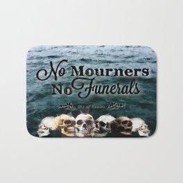 No Mourners - Black Bath Mat