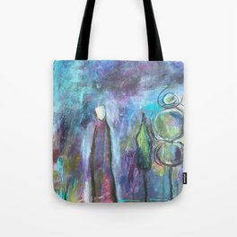 All on My Mind Tote Bag