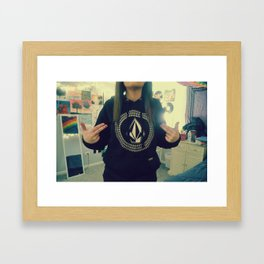 Volcom Framed Art Print