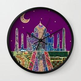 The Taj Mahal Wall Clock