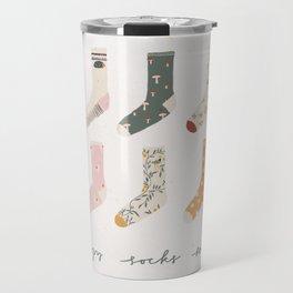 Socks season Travel Mug