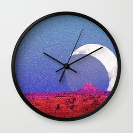 Cathedral of the Moon Wall Clock