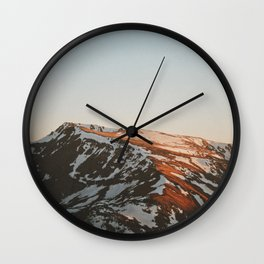 sliver Wall Clock