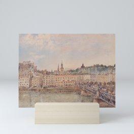 View Of Salzburg 1897 by Rudolf von Alt   Reproduction Mini Art Print