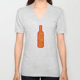 Wine Bottles Unisex V-Neck