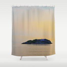 Picnic Rocks at Sunrise 2 Shower Curtain