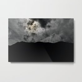 The gray sand Metal Print