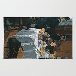 The Luncheon - Claude Monet - 1868 Rug