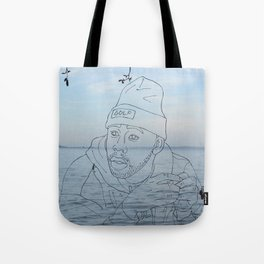 tyler & the sea Tote Bag