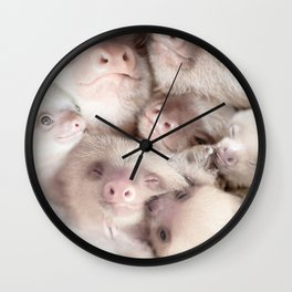 Sloth Wall Clock