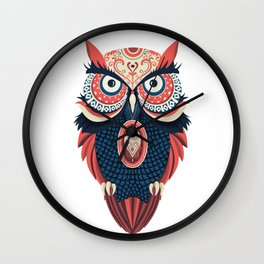 Owl Bird Wall Clock