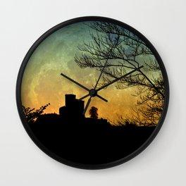 Full moon castle - Trifels Wall Clock