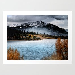 October Morning Art Print