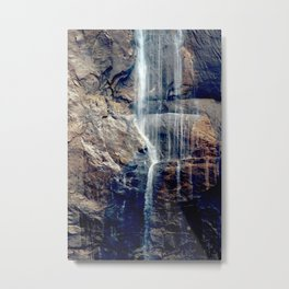 Waterfall at National Park Metal Print