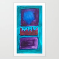 Color Abstract 1 Art Print