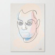 One line Paul Auster Canvas Print