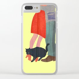 Don't let me go Clear iPhone Case