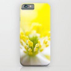 WHITE ANEMONE Slim Case iPhone 6s