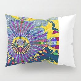 Forget Me Not Pillow Sham