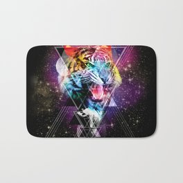 Cosmic Tiger Bath Mat