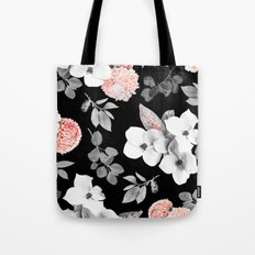 Night bloom - moonlit flame Tote Bag