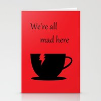 mad Stationery Cards featuring Mad by Crystal Granlund