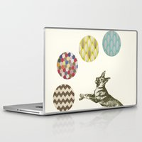 games Laptop & iPad Skins featuring Ball Games by Cassia Beck