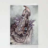 caitlin hackett Stationery Cards featuring the Chamberlain  by Caitlin Hackett