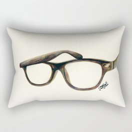 Hipster's Paradox Rectangular Pillow