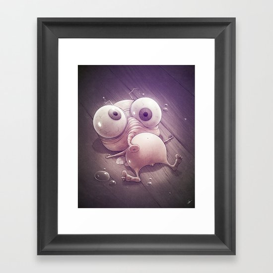 Fleee Framed Art Print