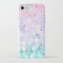 Mermaid Pastel Iridescent iPhone Case