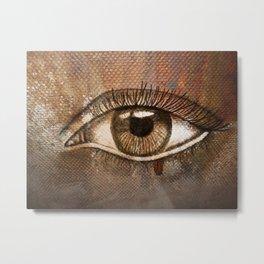 Refracted Canvas Metal Print