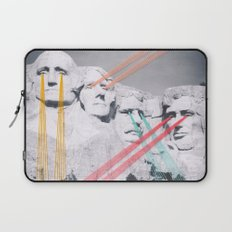 Embroidered Mt. Rushmore Laptop Sleeve
