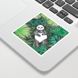 JUNGLE PANDA Sticker