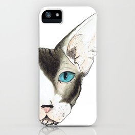 Hairless Cat iPhone Case