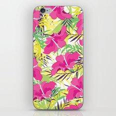 Tropic flowers iPhone & iPod Skin