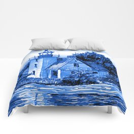Light House: Blues Comforters