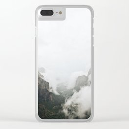 Angels Landing Clear iPhone Case