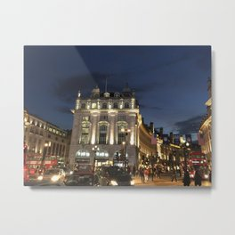 London night exploration Metal Print