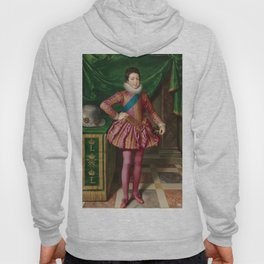 Portrait of King Louis XIII of France by Frans Pourbus Hoody