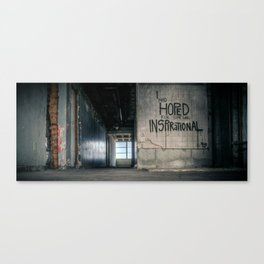 Drayton - Things Hoped For Canvas Print