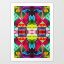 十八 (Shíbā) Art Print