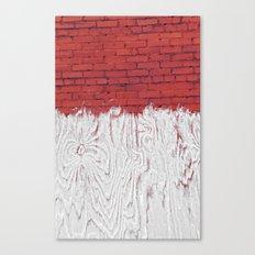 Bleached Brick Canvas Print