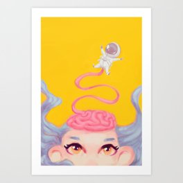 Freethinker Art Print