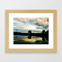Gunpowder Reflections Framed Art Print
