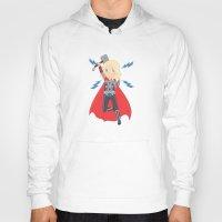 thor Hoodies featuring Thor by Nozubozu